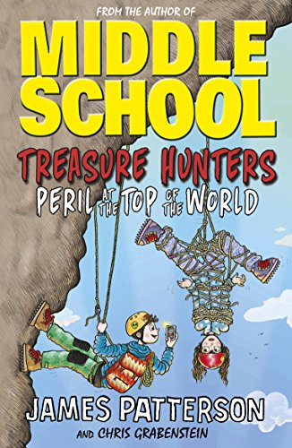 Book cover from Treasure Hunters: Peril at the Top of the World by Patterson James Sullivan Mark