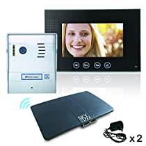 2 Wire Video Intercom App enabled Wifi remote entry smartphone and tablet