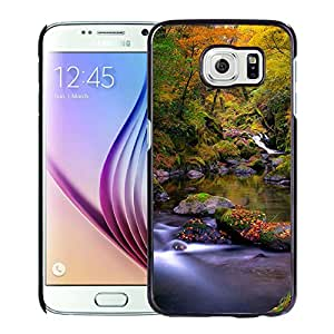Forest Creek Autumn Hard Plastic Samsung Galaxy S6 G9200 Protective Phone Case