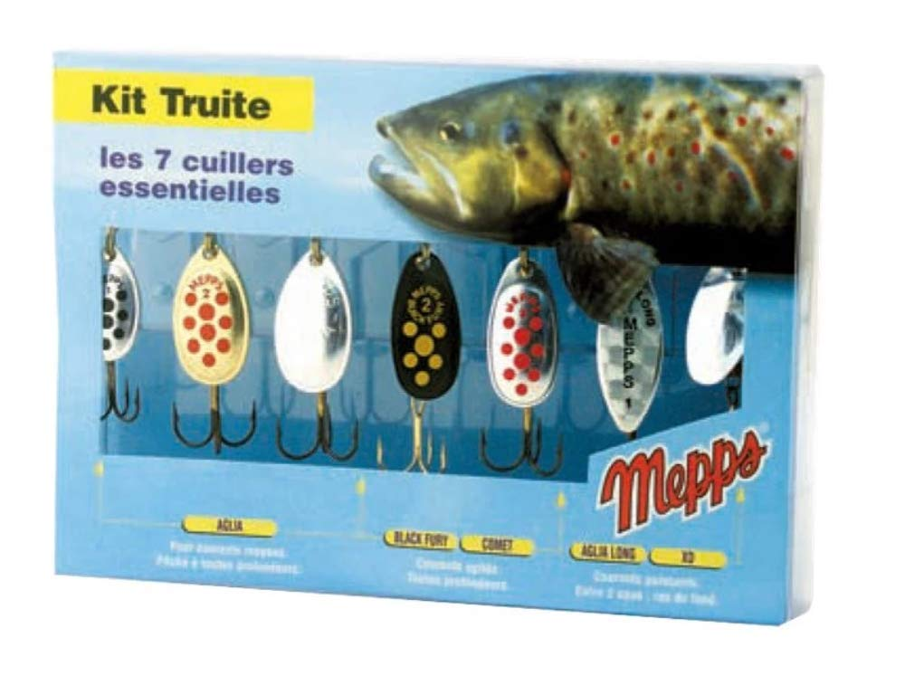 Mepps Lure Kits//Selections*Trout,Pike,Perch,Predator* Aglia Lusox Comet XD Lures