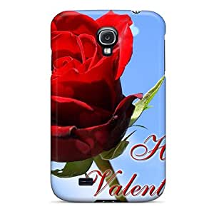New ConnieJCole Super Strong With Love From My Heart Tpu Case Cover For Galaxy S4