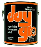 DayGlo Fluorescent Solvent-Based 215 Series Brushing Enamel Paint (Quart, Blaze Orange, 215-15)