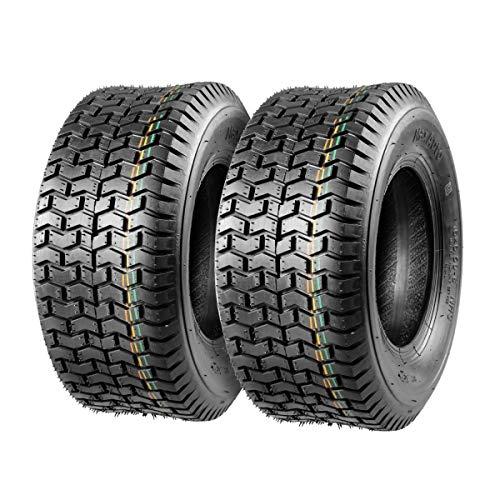 Set of 2 16x6.50-8 16/6.50-8 16-6.50-8 16x650x8 Turf Tires 4Ply