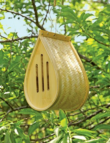Woven Bamboo Butterfly House Gardener' s Supply Co.
