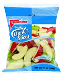 Crunch Pak Mixed Sliced Apples, 14 oz ba...