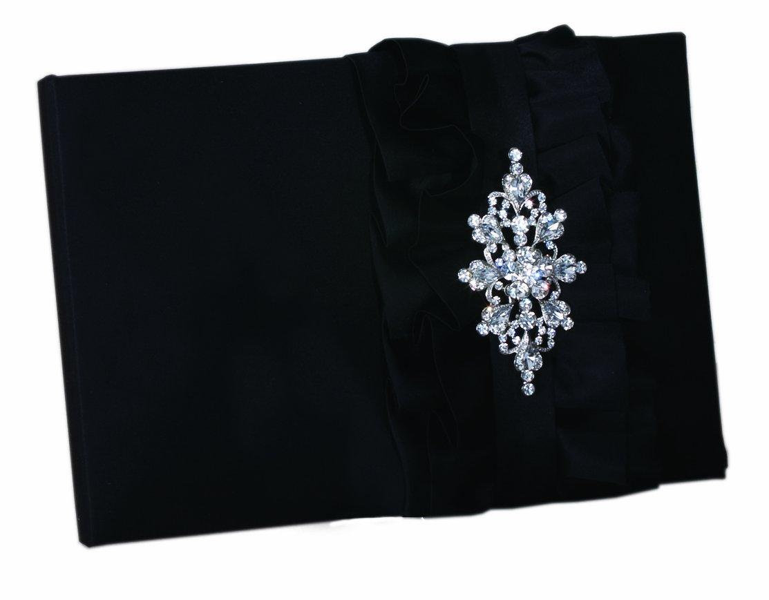 Ivy Lane Design Isabella Guest Book, Black