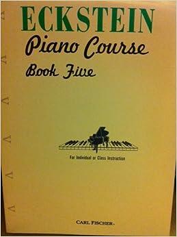 1 adult book eckstein piano
