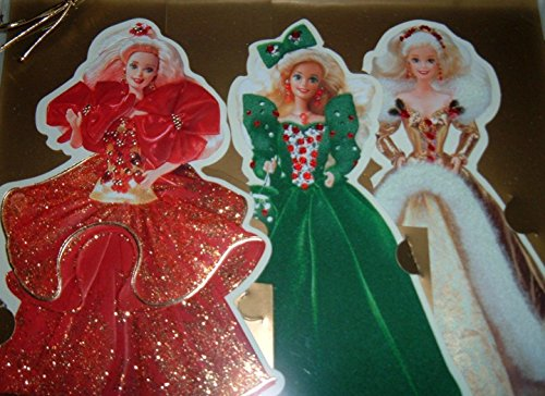 Price comparison product image Holiday Barbie Greeting Card Collection