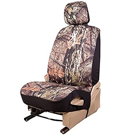 Amazoncom Browning Camo Seat Cover Low Back Neoprene Country