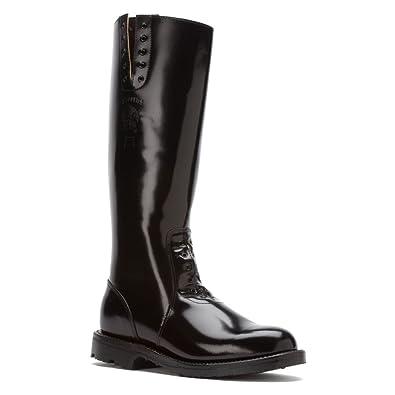 Black Chippewa Mens Boots Boot 27950 17 Inch Trooper Polishable