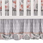 Lambs-Ivy-Calypso-4-Piece-Crib-Bedding-Set-Pink-Gray-Gold-Animals-Jungle