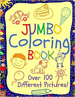 500 Coloring Book Jumbo Picture HD