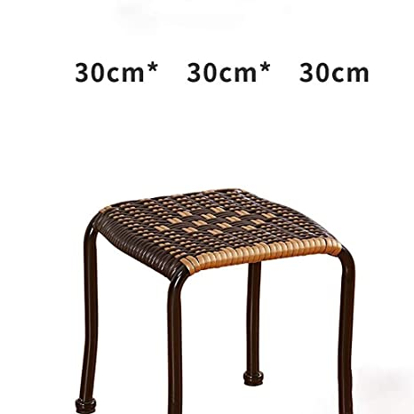 Fabulous Amazon Com Glq Rattan Stool Woven Chair Plastic Stool Ibusinesslaw Wood Chair Design Ideas Ibusinesslaworg
