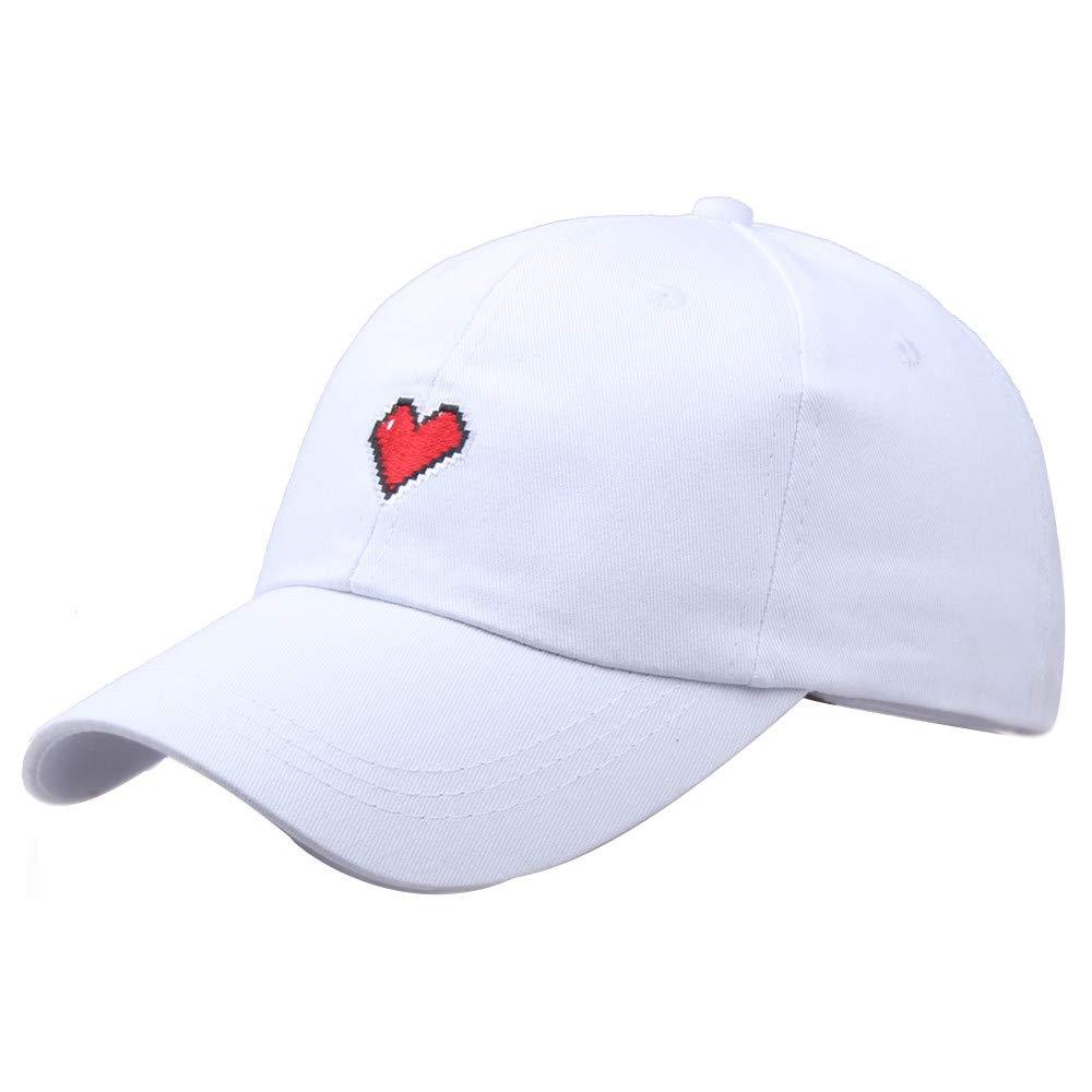 27379bc3e Amazon.com: Baseball Cap, deatu Embroidered Letter S/Heart-shaped ...