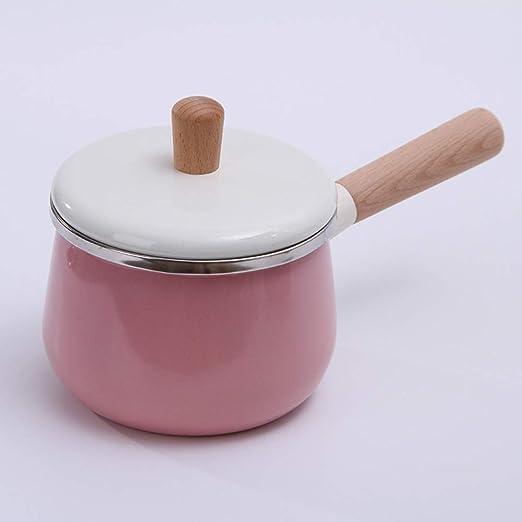 Cazuela De Hierro Fundido Esmaltado,japonés Color Macaron Pote De ...