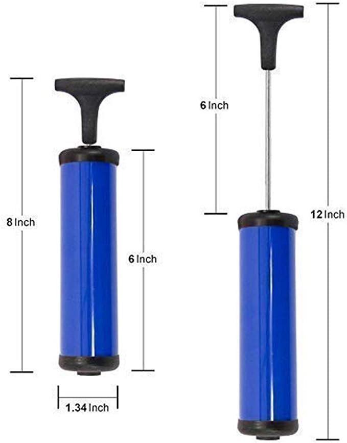 Ball Air needles Balloon Inflator Football Volleyball Blue Accessories