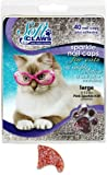 Soft Claws for Cats, Size Large, Color Pink Glitter, My Pet Supplies