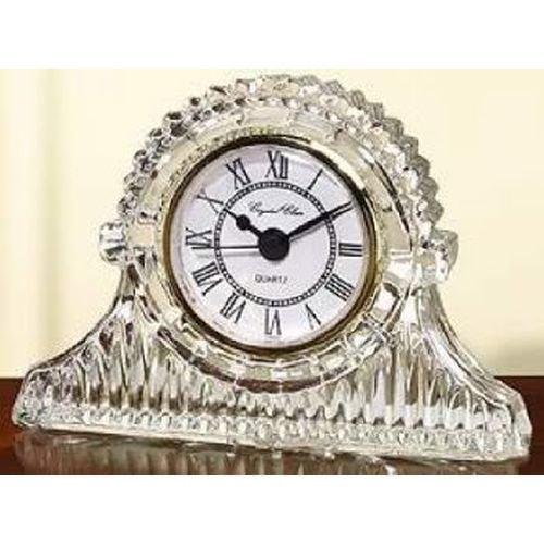 Fifth Avenue Crystal Regal Mantle Crystal Clock