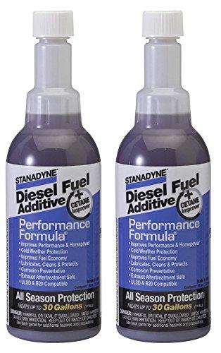 Formula Performance Stanadyne - 2 Bottles of Stanadyne 38564 Performance Formula 8 oz Diesel Fuel Additive