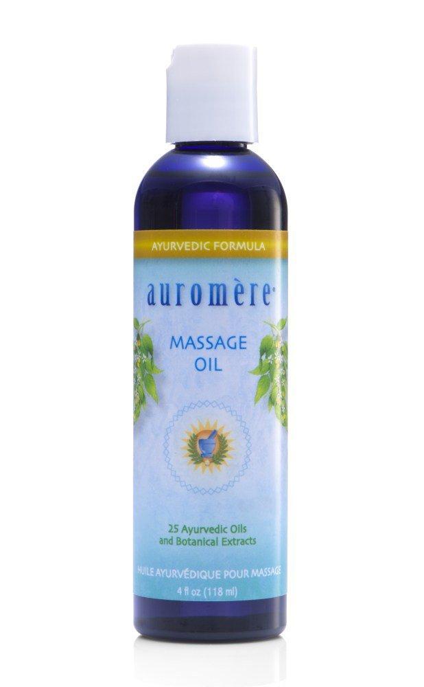 Auromere Ayurvedic Massage Oil - 4 fl oz 027275600018