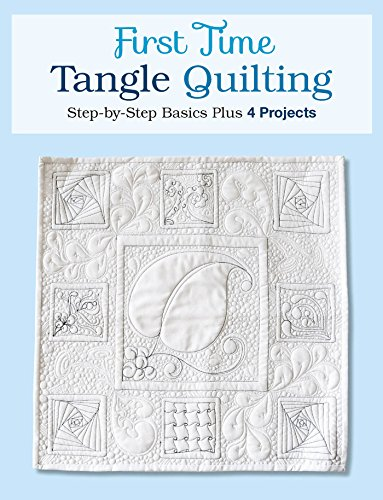 First Time Tangle Quilting Jane ebook product image