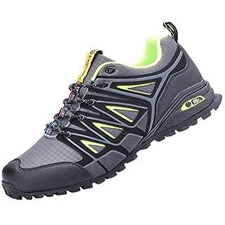 Eagsouni Men's Women's Cross Trainer Shoes Casual Comfort Training Shoe Grey