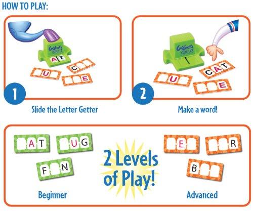 Amazon.com: ThinkFun What's Gnu: Toys & Games