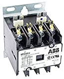 ABB DP40C4P-1 40A, 4P, Definite Purpose Contactor