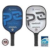 Akisana Pickleball Paddle Set Graphite Pickleball Paddles Lightweight Pickle Ball Paddle Honeycomb Core Pickelball Racket Beginners 2 Advanced Racquet