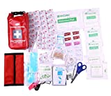 WELL-STRONG 2-in-1 104 Pcs Waterproof First Aid Kit Light...