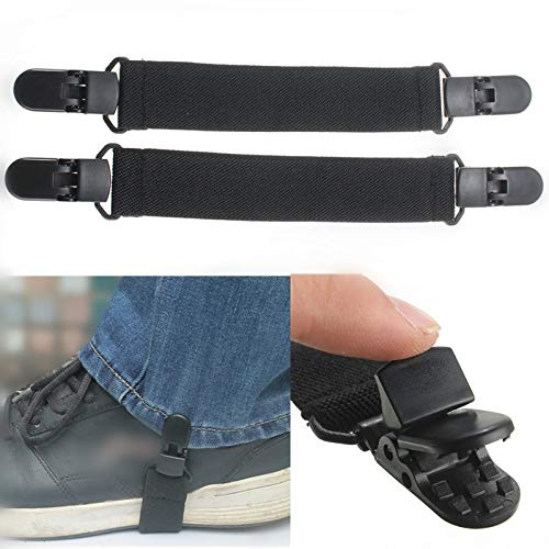 Value.Trade.Inc - New Boot Straps Riding Pant Clips Stirrups Jod Clips Arrival Useful Elastic Motorcycle Bicycle Biker Leg Strap