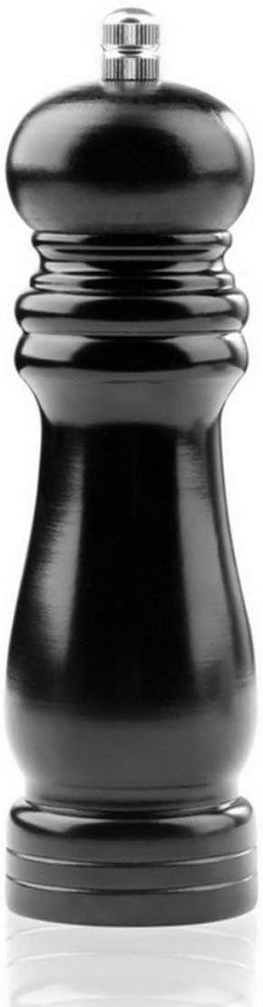 Noir Delicacydex Moulin /à sel en Bois Poivre en Bois Shaker Moulin /à Poivre Gadget Cuisson Viande Restaurants de Cuisine familiale Cuisine Salle /à Manger Utilisation