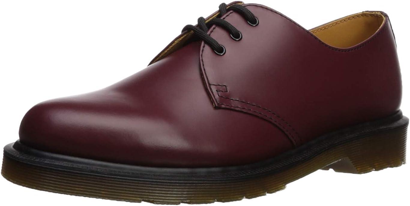 Dr. Martens 1461 Smooth 10078102-2 - Zapatos de Cordones de Cuero para Hombre