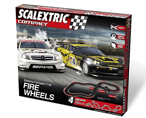 Scalextric-Compact-Circuito-Compact-Fire-Wheels-90221