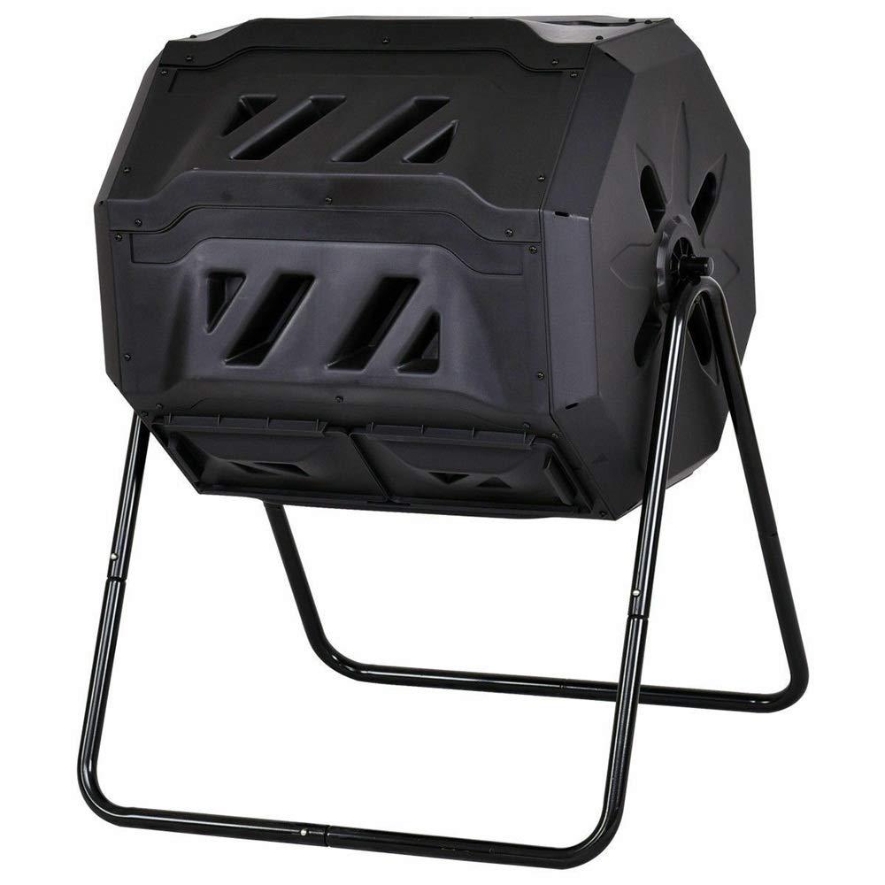 Amazon.com: SPP12 43 Gallon Organic Black Cask Compost Bin ...