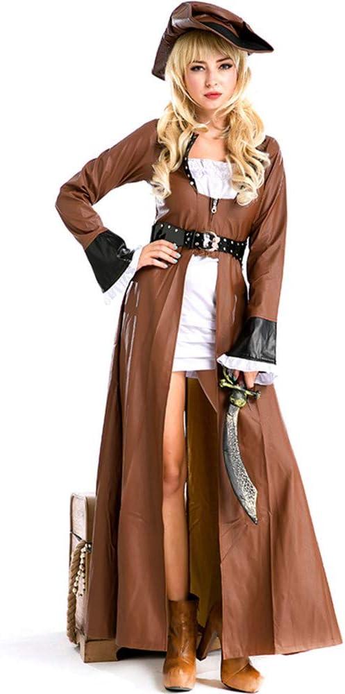 QZ Disfraces de Halloween para Mujer Uniformes de Pirata Juego ...