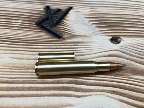 30-06 und 7x64 Hülsen Handmade Patronenhülsen Kugelschreiber aus 357 Magnum