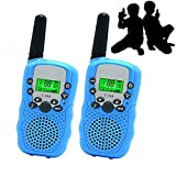 Best Gifts for Kid, JRD&BS WINL Walkie Talkies for Kid,Cool Toys for 4-5 Year Old Boys,1 Parir(Blue)