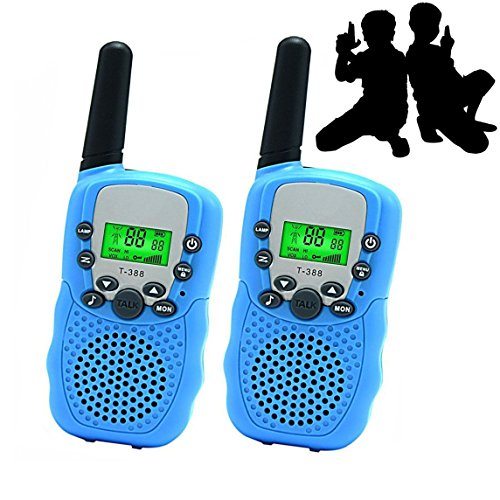 JRD&BS WINL Best Gifts for Kid, Walkie Talkies for Kid,Cool Toys for 4-5 Year Old Boys,1 Parir(Blue)