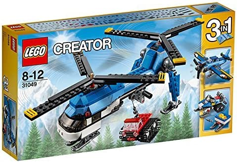 LEGO Creator 31049 Twin Spin Helicopter Building Kit (326 Piece) by LEG