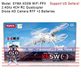 SYMA-X5SW-WiFi-FPV-24Ghz-4CH-RC-Quadcopter-Drone-HD-Camera-RTF-3-Batteries