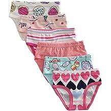 The Kite Girls' Soft Cotton Panties 6-Pack