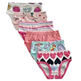 #8: The Kite Girls' Soft Cotton Panties 6-Pack