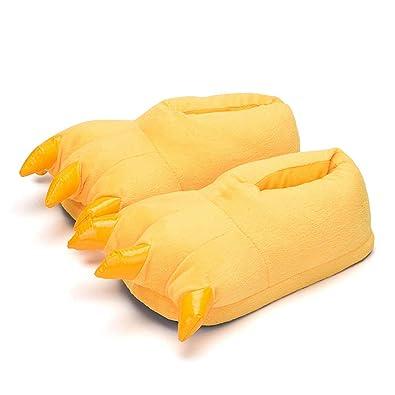 NNDOLL - Zapatillas de Estar por casa de Terciopelo para niño, Color Amarillo, Talla M/ 32-37: Amazon.es: Zapatos y complementos