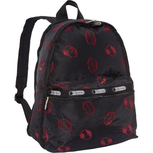 LeSportsac Women's Basic  Backpack,Hot Kiss,One Size, Bags Central