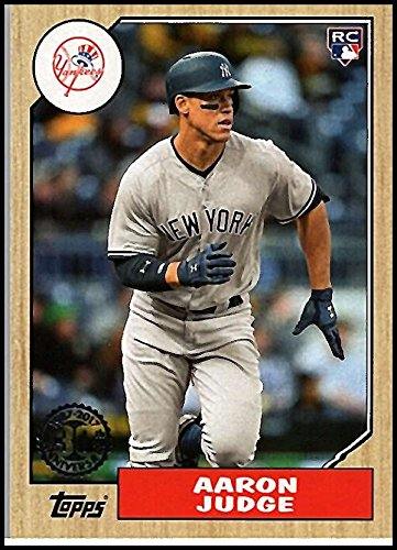 2017 Topps Update 1987 Rookies and Trades #US87-35 Aaron Judge New York Yankees Baseball Card