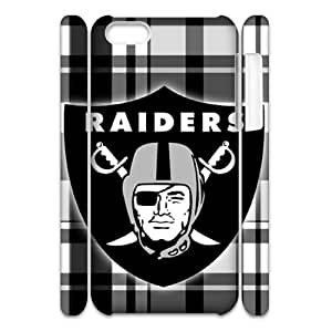 GGMMXO Oakland Raiders Phone 3D Case For Iphone 5C [Pattern-1]