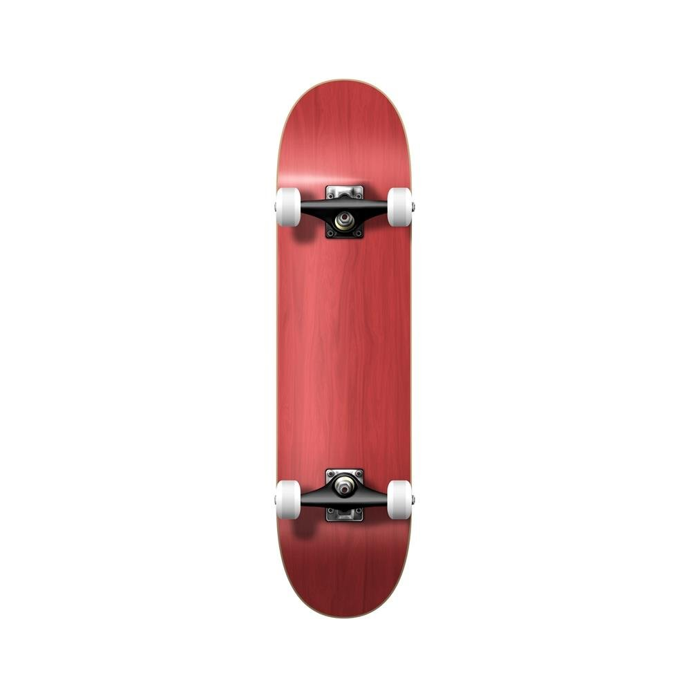 Yocaher Blank and Checker Pro Complete Skateboard 7.75 Skateboards