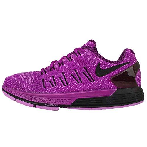 Nike Women's Wmns Air Zoom Odyssey, VIVID PURPLE/BLACK-FUCHSIA GLOW-BLACK, 6 M US