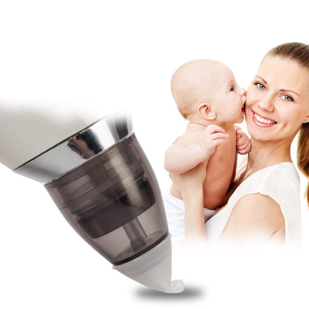 Neonato-Set Nase Reinigung f/ür Kinder und Kinder WanNing Nasal Bebe elektrischer Staubsauger 3 Arten von Kieselgel 5 Saugstufen